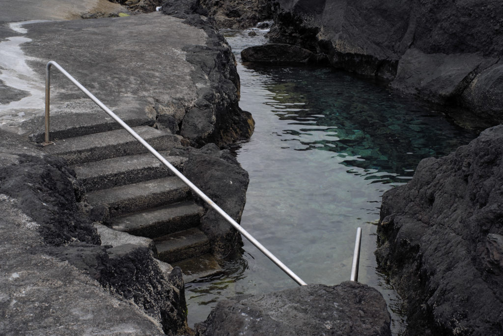 Natural pool in the Azores.