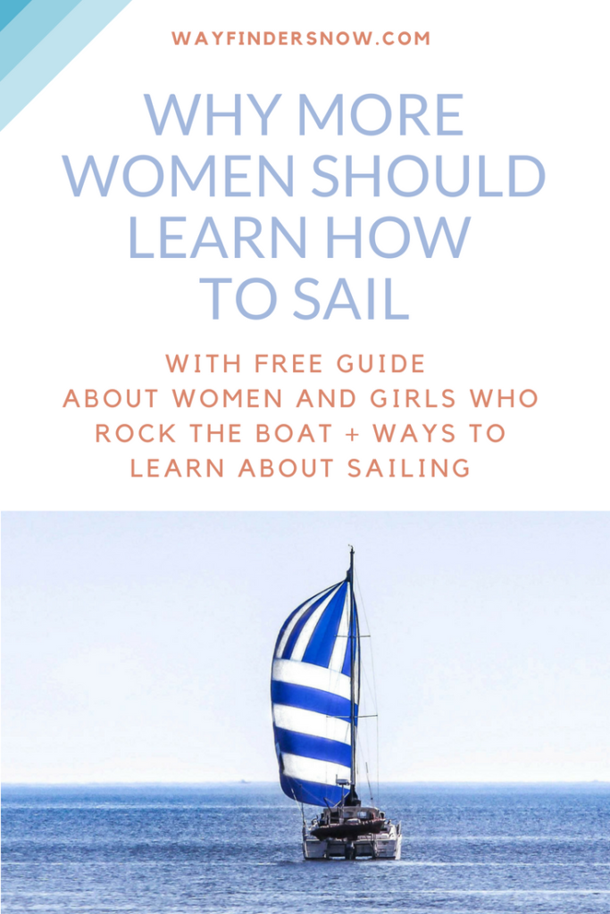 A free guide for women and girls to learn about sailing.